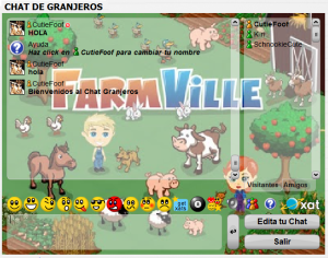 chat farmville